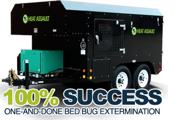 PA bed bug heat extermination